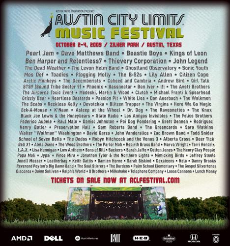 Austin City Limits 2009