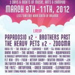Aura Music & Arts Festival 2012 Announce Dates and Lineup with Papadosio, Brothers Past & More
