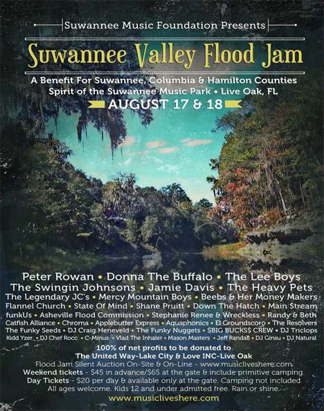 Suwannee Flood Jam