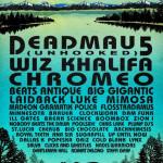 SnowGlobe Announes 2012 Dates and Initial Lineup: Deadmau5, Wiz Khalifa, Chromeo & More