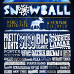 Snowball Announces 2013 Lineup: Pretty Lights, STS9, Big Gigantic & More