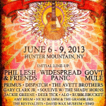 Mountain Jam Announces 2013 Initial Lineup: Phil Lesh & Friends, Widespread Panic, Gov't Mule & More