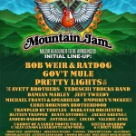 Mountain Jam 2014 Initial Lineup: Bob Weir & Ratdog, Gov't Mule, Pretty Lights & More