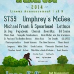 Wakarusa 2014 Lineup Announcement 1 of 3: STS9, Umphrey's McGee & More