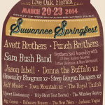 Suwannee Springfest Release 2014 Dates and Initial Lineup: Avett Brothers, Punch Brothers & More