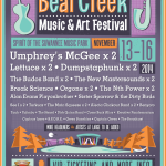 Bear Creek 2014 Initial Lineup: Umphrey's McGee, Lettuce, Dumpstaphunk & More