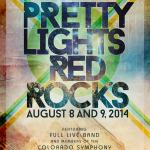Pretty Lights Full Live Band and Colorado Symphony at Red Rocks 2014