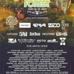Electric Forest Announce 2014 Lineup: String Cheese Incident (3 sets), STS9 (2 sets) & More