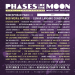 Phases of the Moon 2014 Lineup Revealed: Widespread Panic, Bob Weir and Ratdog & More TBA