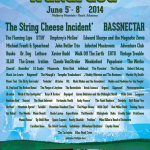 Wakarusa 2014 Complete Lineup Announcement