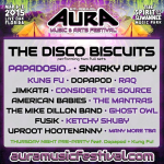 Aura Music & Arts Festival 2015 with The Disco Biscuits, Papadosio, Snarky Puppy & More
