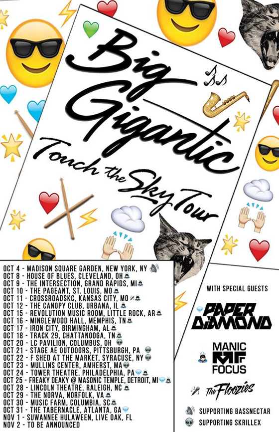 Big Gigantic - Fall Tour 2014
