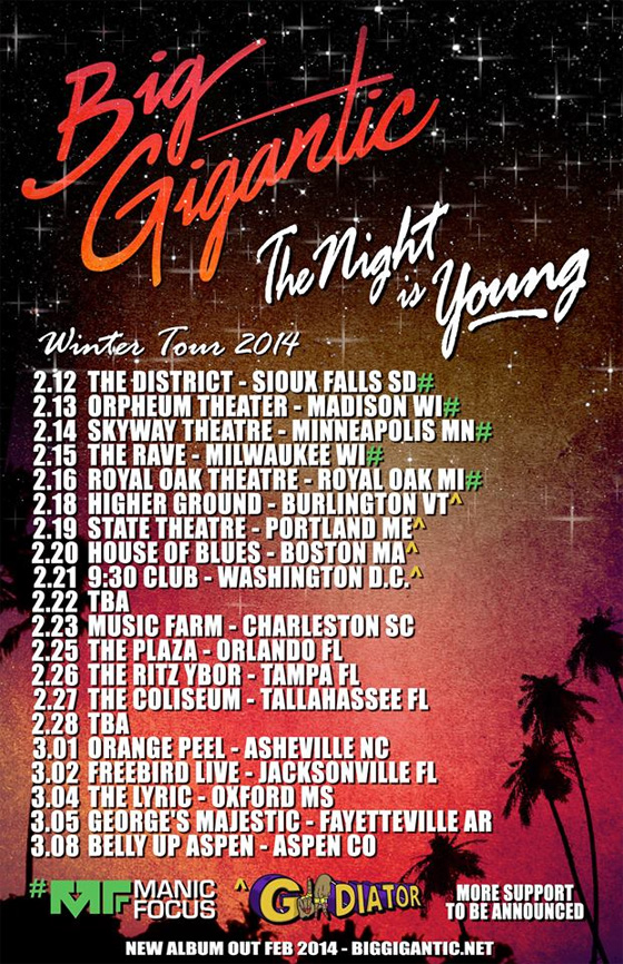 Big Gigantic - Winter Tour 2014