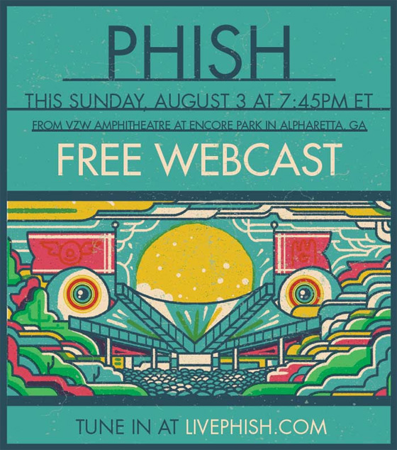 Phish Free Webcast 2014