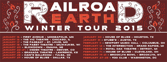 Railroad Earth Fall Tour 14