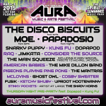 AURA Music Festival 2015 Adds Moe., The Main Squeeze & More