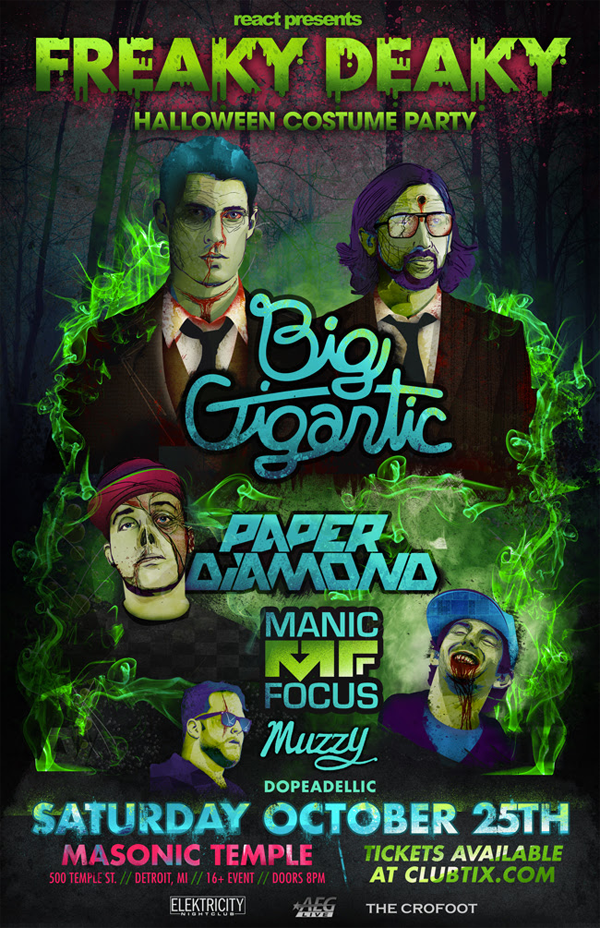 Big Gigantic -Freaky Deaky 2014