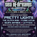 Sea of Dreams NYE 2015 with Pretty Lights, Glitch Mob, Flying Lotus & More