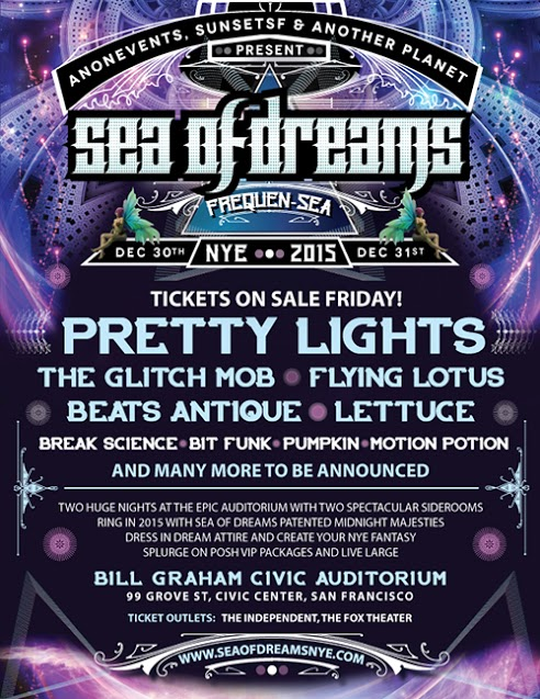 Sea Of Dreams NYE 2014