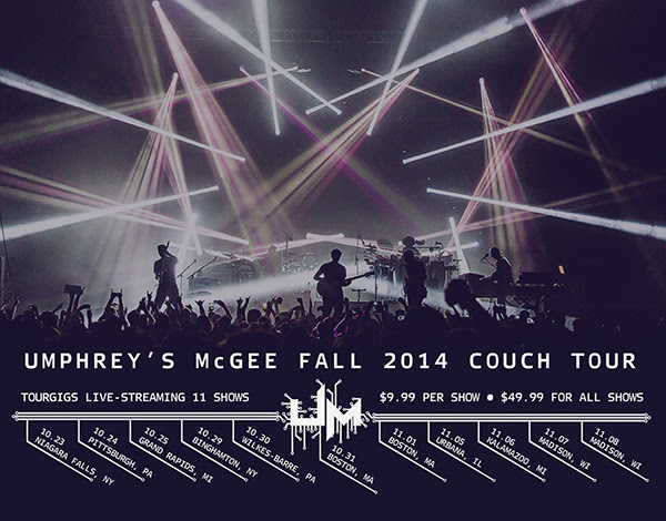 Umphrey's McGee - Couch Tour 2014