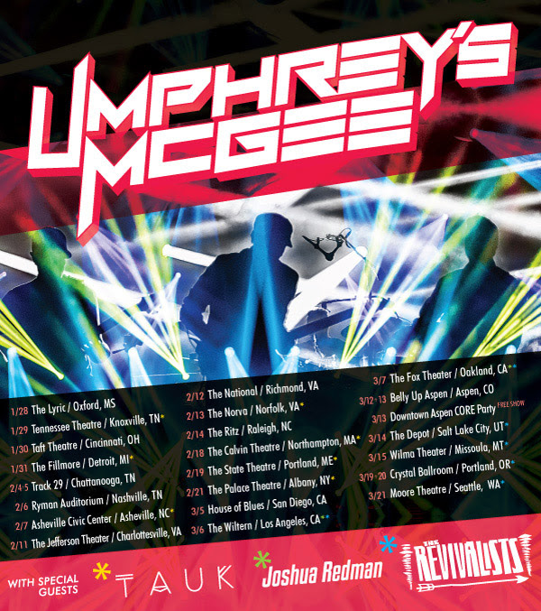 Umphreys - Fall Tour 2014