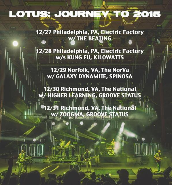 Lotus - NYE 2014