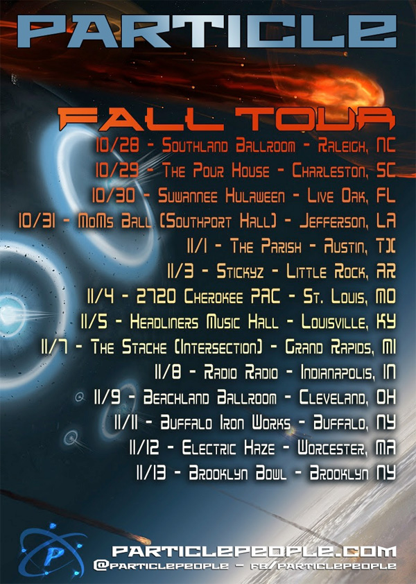 Particle - Fall Tour 2014