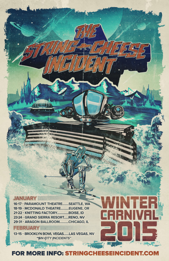 String Cheese Incident - Winter Carnival 2015