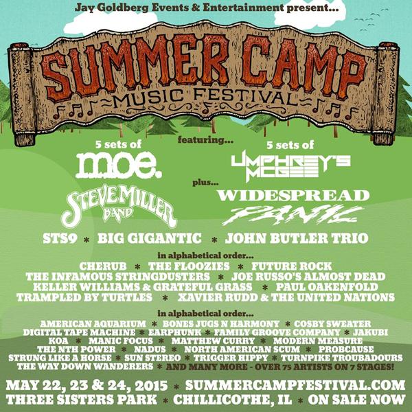 Summer Camp Music Festival 2015