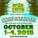Bear Creek 2015 Canceled