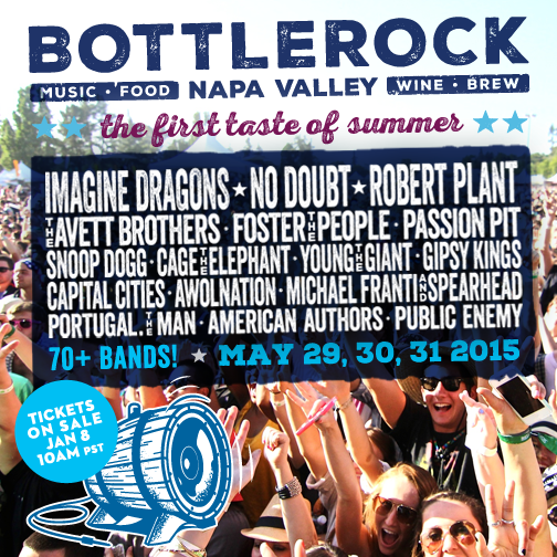 Bottle Rock Napa Valley 2015