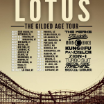 "Video ~ Lotus ""Gilded Age Tour"" 2015"