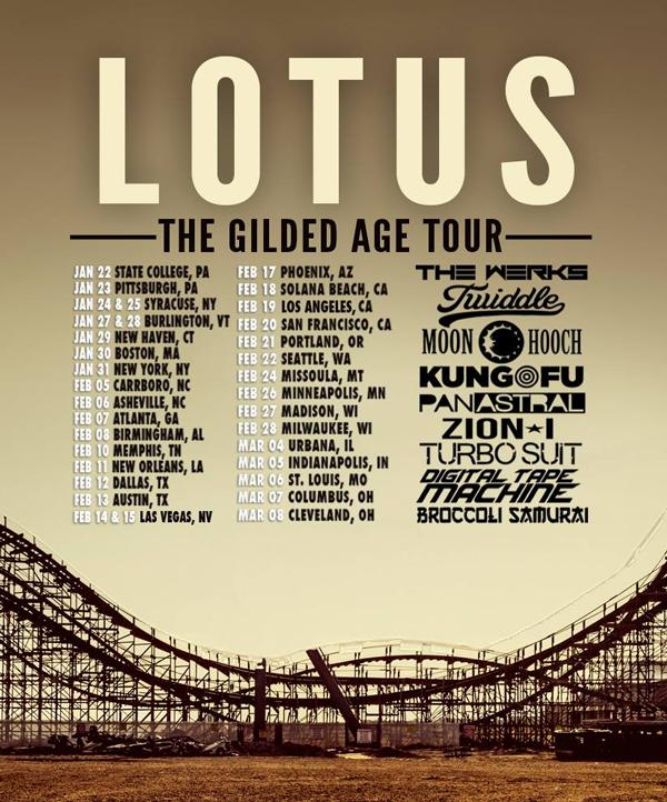 Lotus - Gilded Age Tour 2015