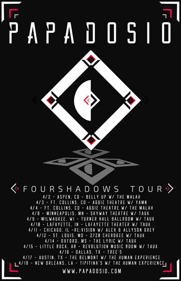 Papadosio Winter Tour 2015