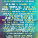 The Hangout 2015 Lineup with The Foo Fighters, My Morning Jacket, Umphrey's McGee & More