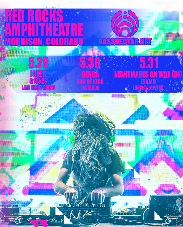 Bassnectar - Red Rocks 2015