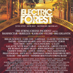 Electric Forest 2015 Lineup Announced: String Cheese Incident, Bassnectar, Big Gigantic & More