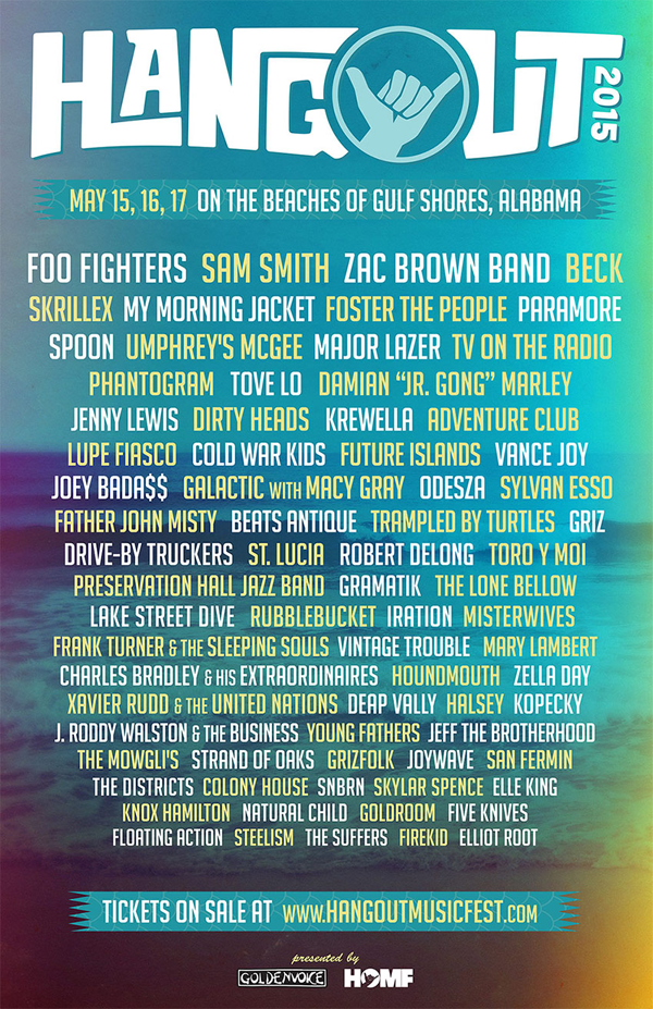 The Hangout 2015 - Lineup Update