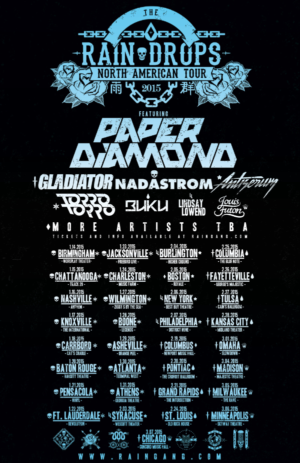 Paper Diamond - Raindrops Tour 2015