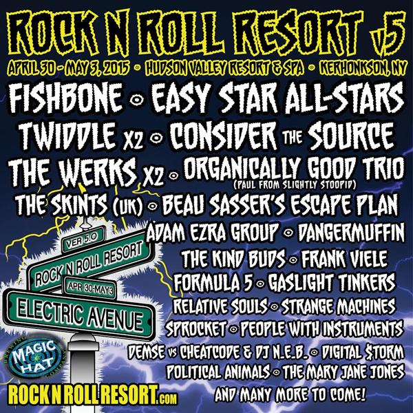 Rock N Roll Resort 2015