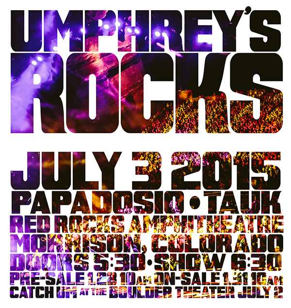 Umphrey's McGee Red Rocks 2015