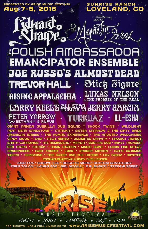 Arise Music Festival 2015