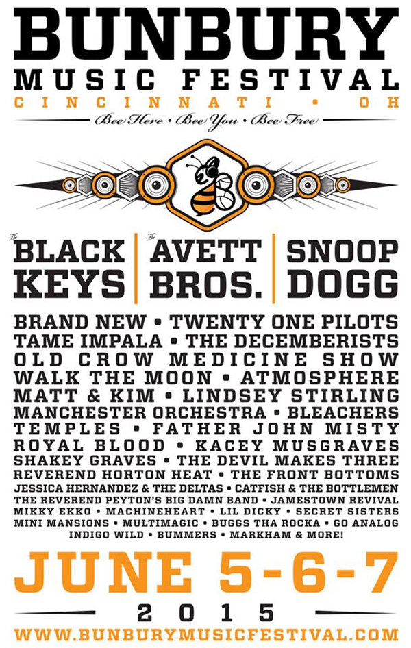 Bunbury Music Festival 2015