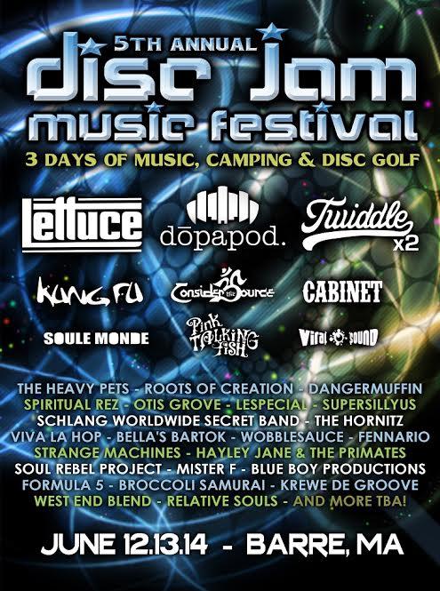 Disc Jam 2015