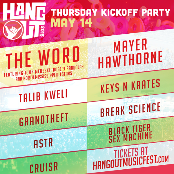 The Hangout Pre-Party 2015