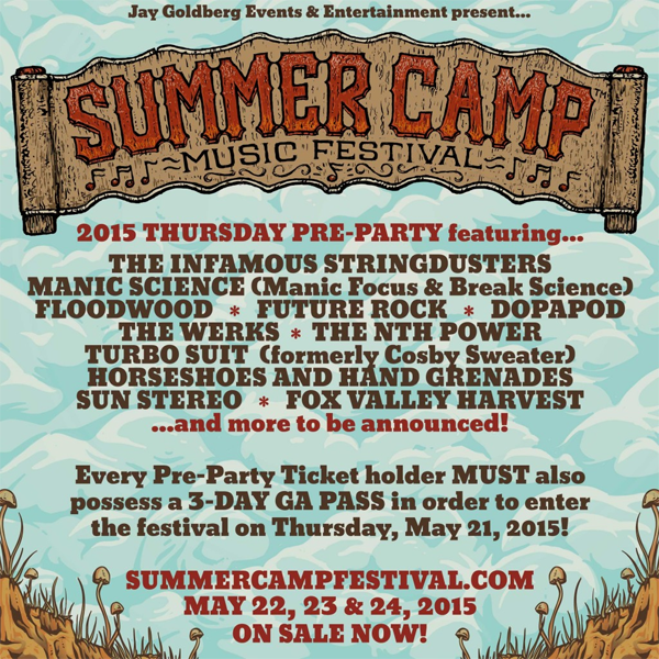 Summer Camp Pre-Party 2015