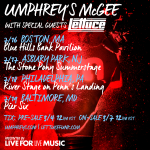 Umphrey's McGee with Special Guests Lettuce July 2015