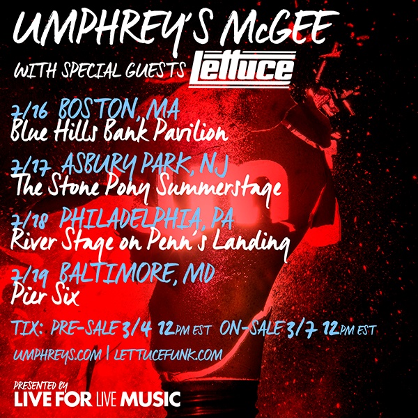 Umphrey's McGee with Lettuce - July 2015