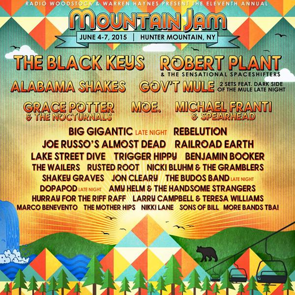 Mountain Jam 2015