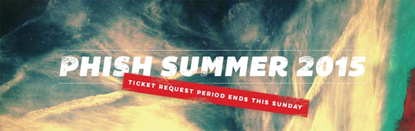 Phish - Summer Tour 2015